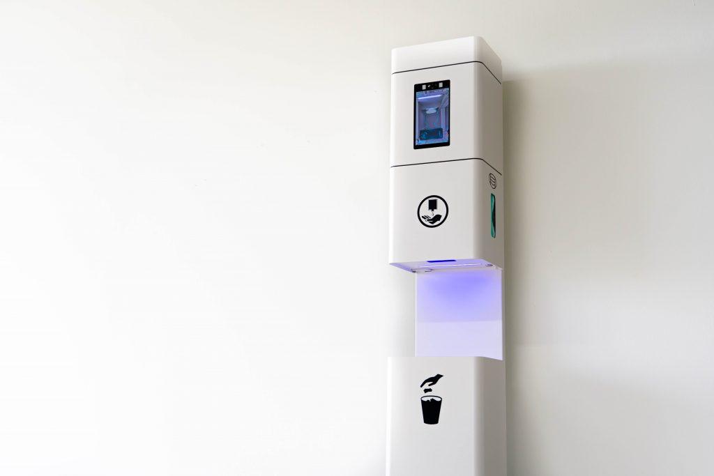 Futuristic Hygiene Stand 2 of 27 Copy