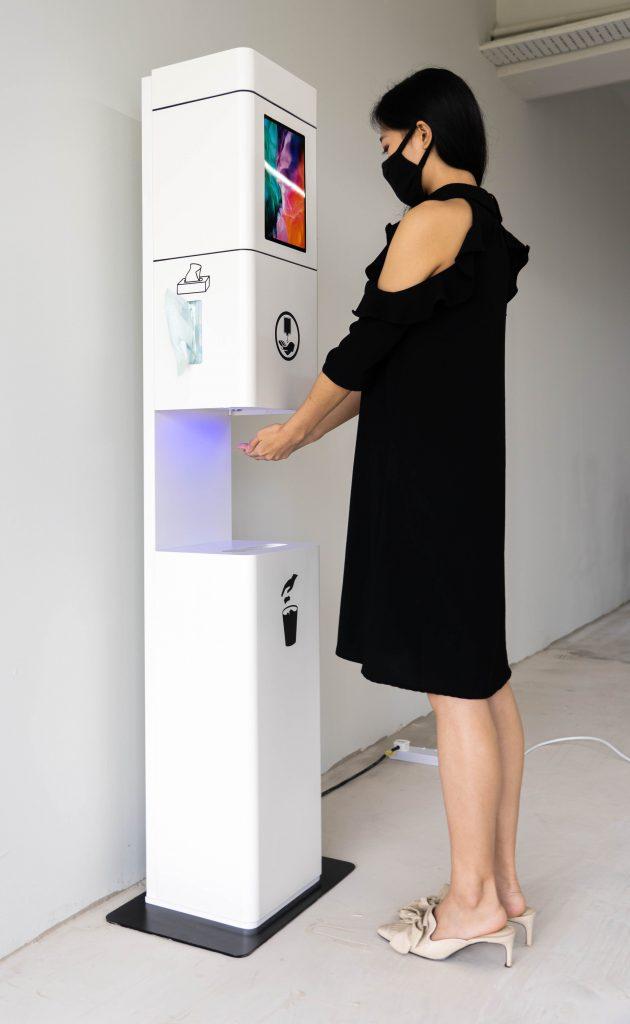 Futuristic Hygiene Stand 21 of 27