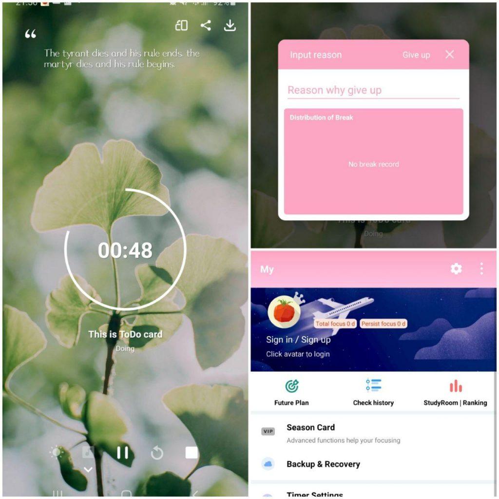 TomaTodo App Features